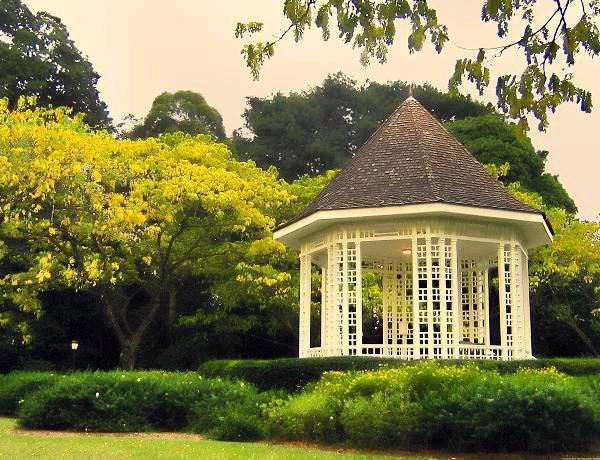 botanic gardens gazebo